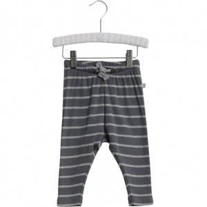 Bilde av Baby basic bukser stripete i fargen turbulence fra Wheat