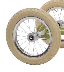 Bilde av Trybike hjulsett brunt - passer til trybike syklene i rosa