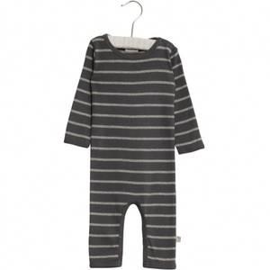 Bilde av Baby basic heldress Theis stripete i fargen turbulence fra