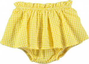 Bilde av Baby jente shorts Sabella i Raffia fra Molo
