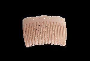 Bilde av Comb dusty pink swarovski