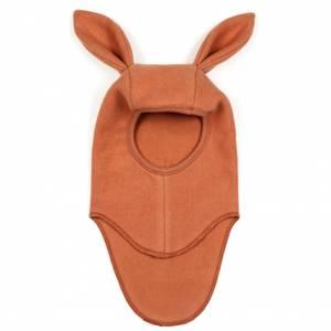 Bilde av Elefanthut bommullsfleece rabbit terracotta fra Huttelihut