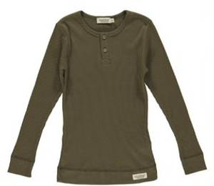Bilde av Basic t-shirt Modal LS i Loden fra MarMar