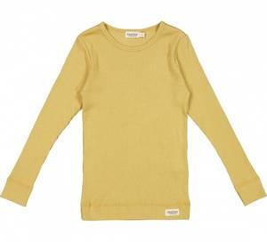 Bilde av Basic t-shirt Modal LS i Hay fra MarMar
