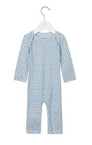 Bilde av Baby gutt heldress baby blue fra Noa Noa