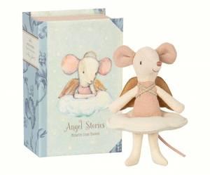 Bilde av Mus - muse engel i boks fra Maileg