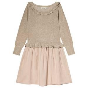 Bilde av Jente kjole Dally i gold fra MarMar