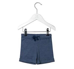 Bilde av Baby gutt shorts i navy peony fra Noa Noa