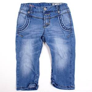 Bilde av Aliki stone blue denim 3/4 shorts fra Molo