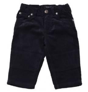 Bilde av Baby gutt bukser plain i darkblue fra Wheat