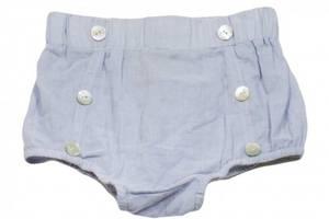 Bilde av Baby shorts Miles bloomer faded blue fra Memini