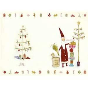 Bilde av Dobbeltkort med julenisse og juletre fra Maileg