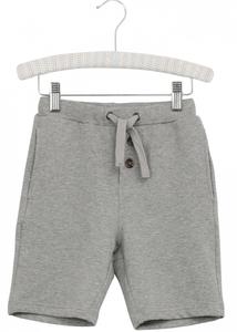Bilde av Gutt shorts sweat i greymelange fra Wheat