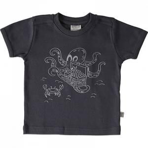 Bilde av Baby gutt T-shirt med blekksprut fra Wheat