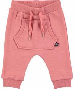 Bilde av Baby jente bukser med shimmer Sandie pink melange fra Molo