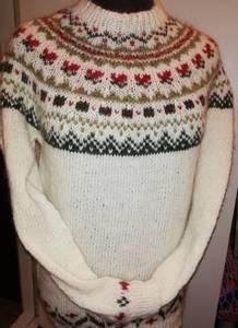 Bilde av   Hvit genser i