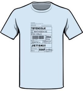 Bilde av JETSKI! babyblå XL