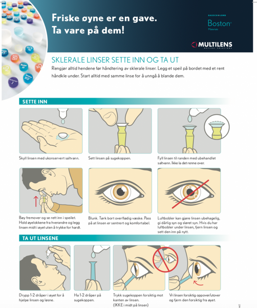 Bilde av Håndteringsinstruksjoner