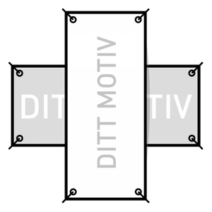 Bilde av PVC Banner 1 x 2 meter