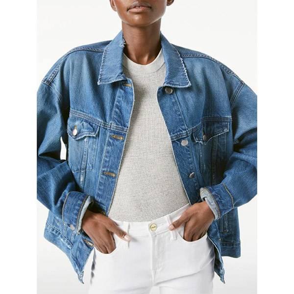 FRAME Heritage Oversized Jacket Peralta Grind
