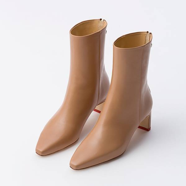 Aeyde Ivy Ankle Boot Hazelnut
