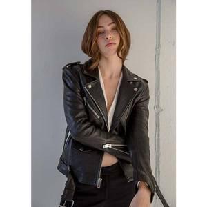 Bilde av CPHLA Vega Leather Jacket Black
