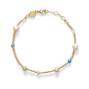 Bilde av Anni Lu Fruit d´Or Bracelet Pool Blue
