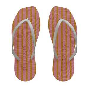 Bilde av Sleepers Tapered Pink Stripe Flip Flop