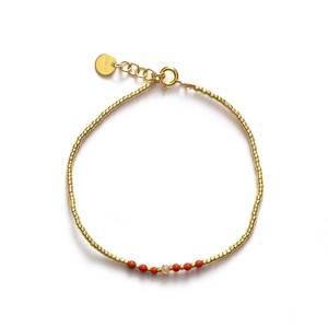 Bilde av Anni Lu Bead & Gem Bracelet Corail