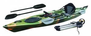 Bilde av WATERCRAFT Fishing m/ Thrustme elmotor