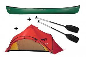 Bilde av VENTURE Ranger 162 kanopakke med Bergans Wiglo telt