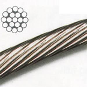 Bilde av Wire til senkekjøl, 3 mm galvanisert