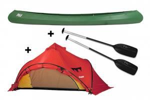 Bilde av ALLY 16,5' DR Kanopakke med Bergans wiglo telt