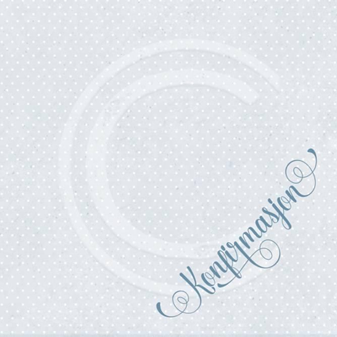 Bilde av Serviett konfirmasjon, blå