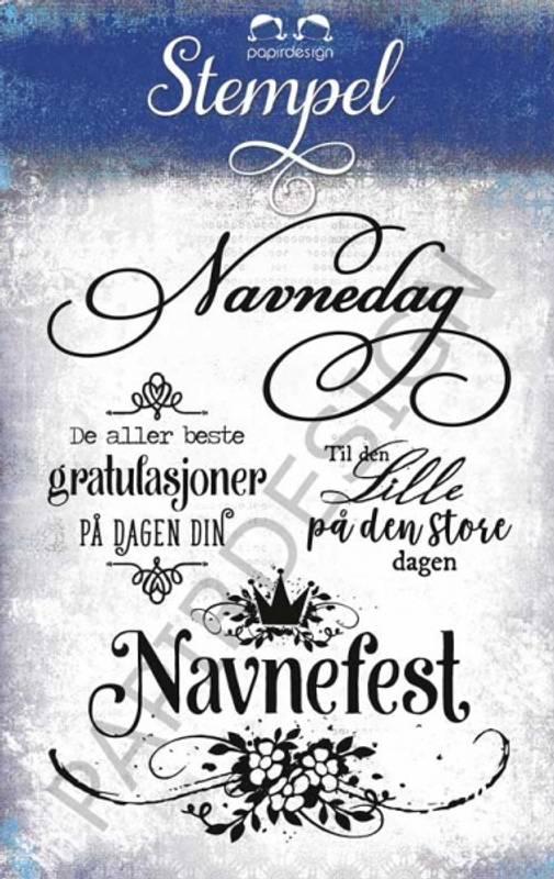 Bilde av PD17241 Stempel Navnefest (6)