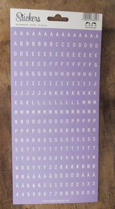 Bilde av Alfabet lilla (6)