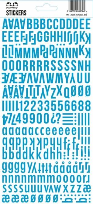 Bilde av Stickers blue (6)