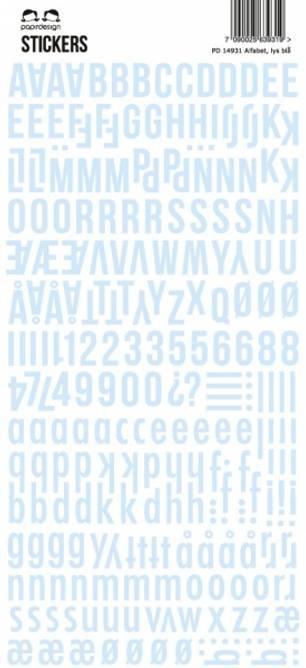 Bilde av Stickers lys blå (6)