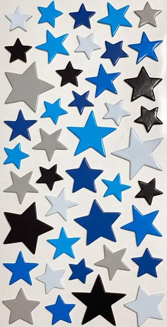 Bilde av Chipboard stjerner ( 6 stk )