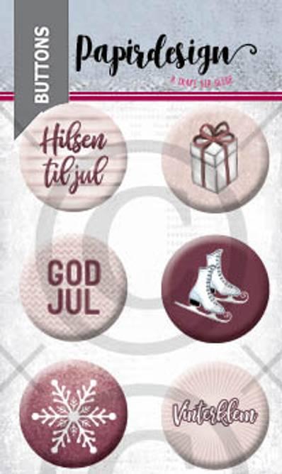 Bilde av God jul 4 (6 buttons)