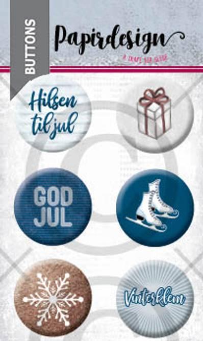 Bilde av God jul 5 (6 buttons)