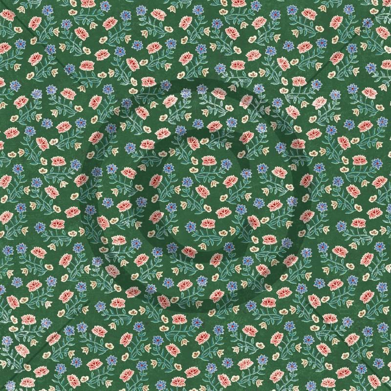 Bilde av PD 1900031 Nordlandsbunad, grønn (25 ark)