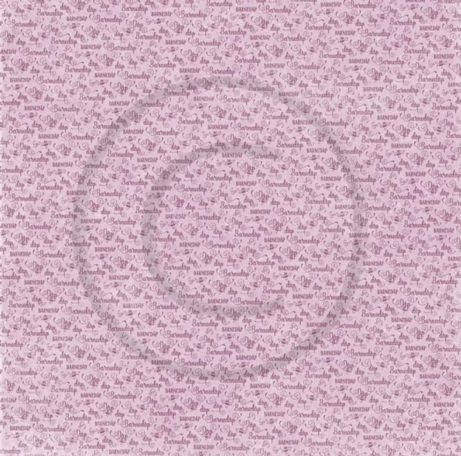 Bilde av PD 18442 Barnedåp, rosa (25