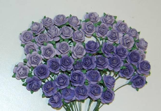 Bilde av Nr 42, Roser 1,0 cm, Lys