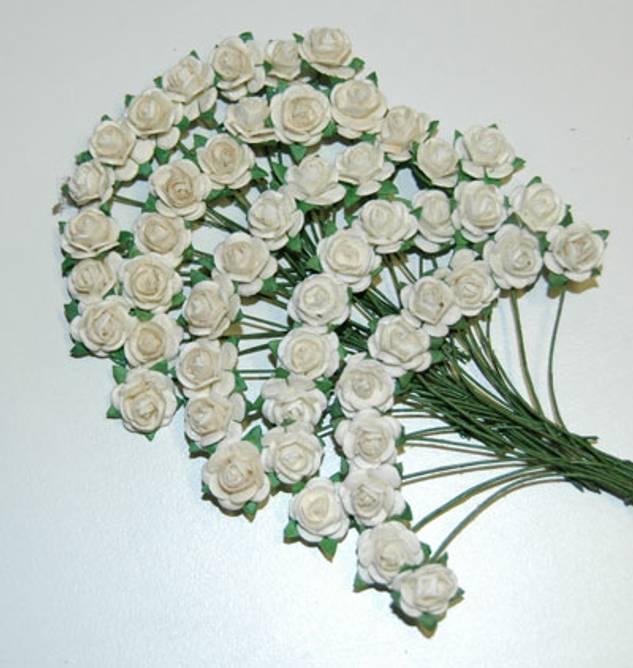 Bilde av Nr 100, Roser 1,2 Hvit, bare