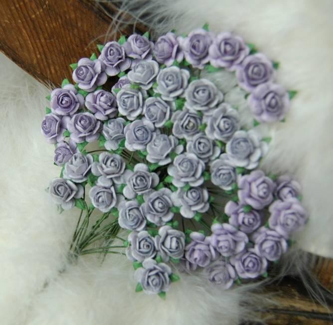 Bilde av Roser 1,2 Lys vintage lilla