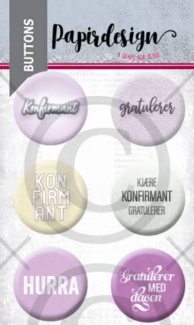 Bilde av Konfirmant 7 (6 buttons)