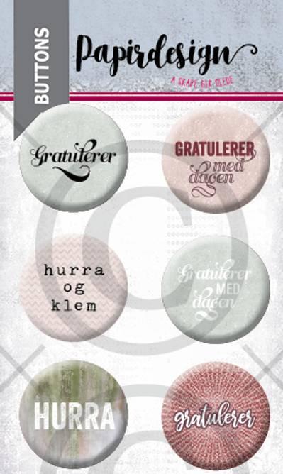 Bilde av Gratulerer 2 (6 buttons)