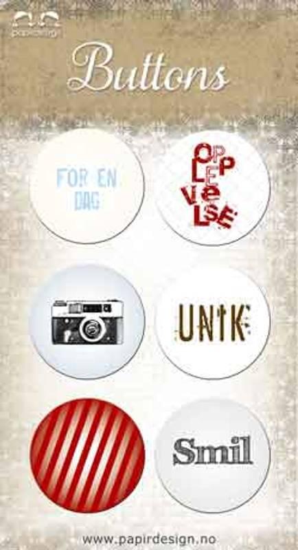 Bilde av Buttons, Smil (6)