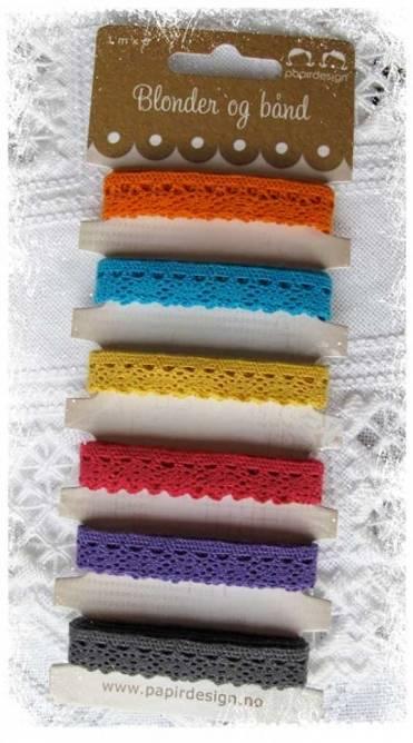 Bilde av Båndpakke fargerik (6)